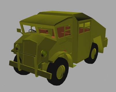 3ds gun tractor