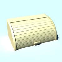 breadbin 3d model