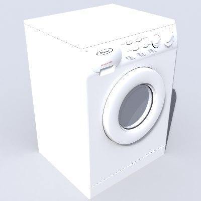 3d lwo washing machine