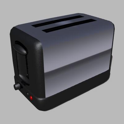 3d model toaster
