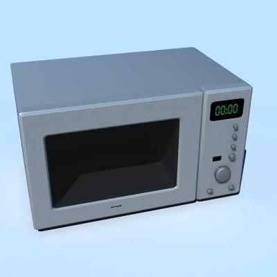 3d model micorwave oven