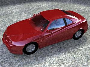 3ds alfa romeo car