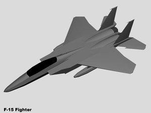 free aircraft 3d model