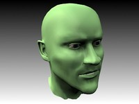 3ds max muscular head