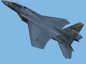 f15e fighter 3d model