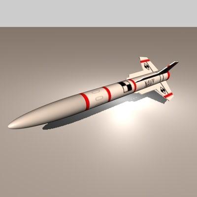 stingray ship air 3d model