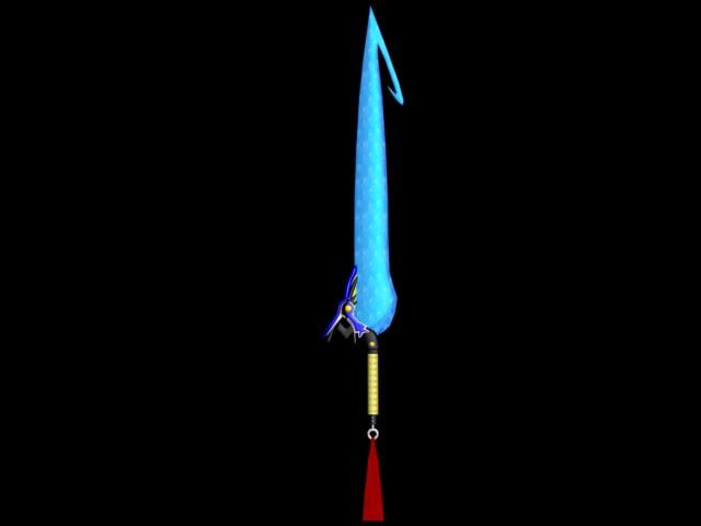 3dsmax tidus sword