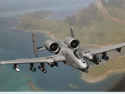 a-10 warthog airplane 3d model