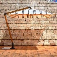 3d garden furniture sunshade model