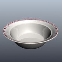 bowl - corelle (hi poly)