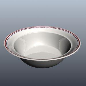 corelle bowl 3d max