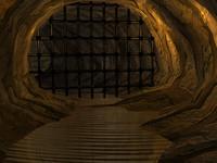 dark cave 3d model