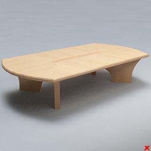 free table 3d model