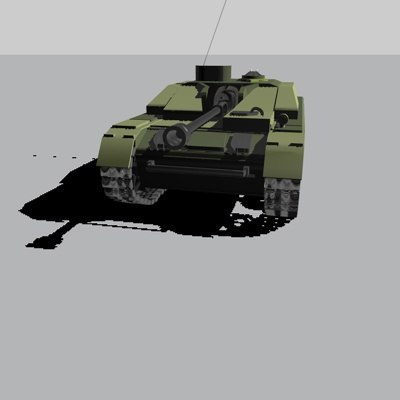 free 3ds model german tank