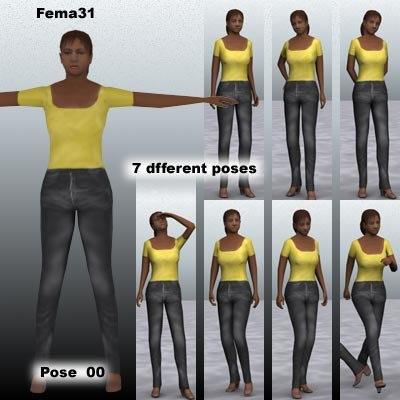 human female girl max