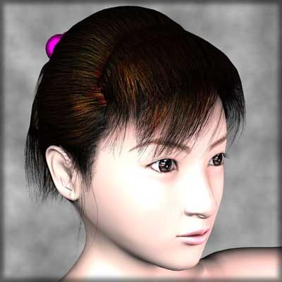 human girl female 3d model