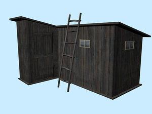 house facilities 3d model