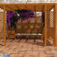 3d model plants gazebo