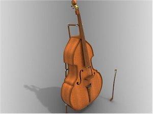 maya musical instrument contrabass double bass