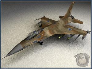 3d lwo israeli f16c