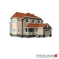House002_3ds.ZIP