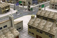 urban residential 3d 3ds