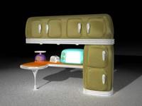 furnitures kitchen02_3ds.zip