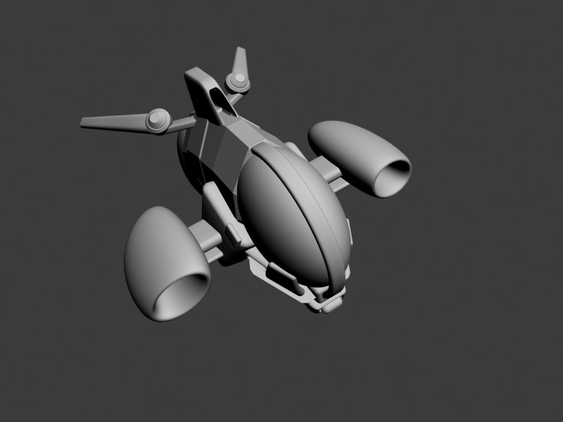 3d 3ds shuttle aircraft