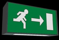 Exit Signs - European