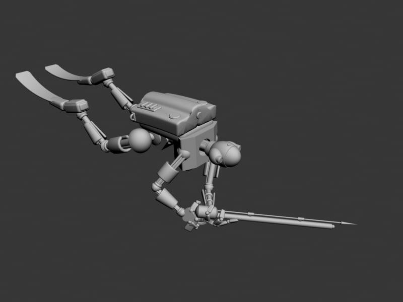 robot diver max