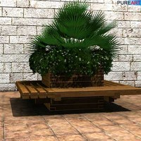 max plants planter bench