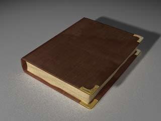 3d model ancient book