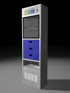 3ds max ambulance cabinet