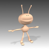 alien cartoon 3d max