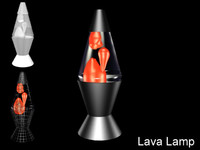 free lava lamp 3d model