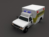 lightwave ambulance 3d lwo