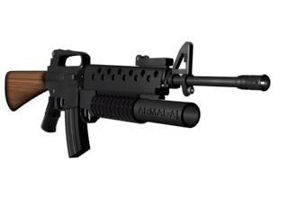 m203 america army 3d model