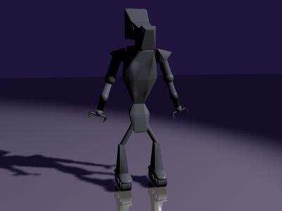 free robo 3d model