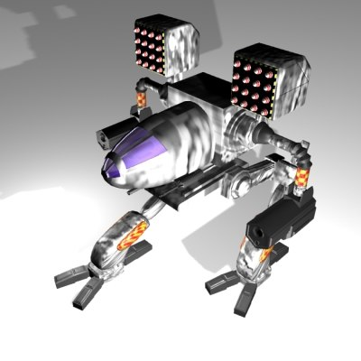 timber wolf mad 3d model