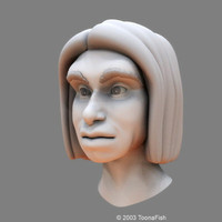 3d head neanderthal model