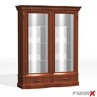 3d model cabinet display