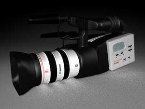 3d model television camera