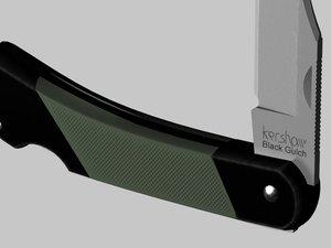3d model kershaw pocket knife