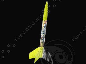 3d rocket ionizer