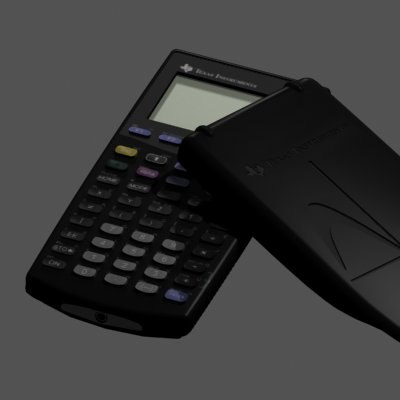 texas ti-89 calculator 3d max
