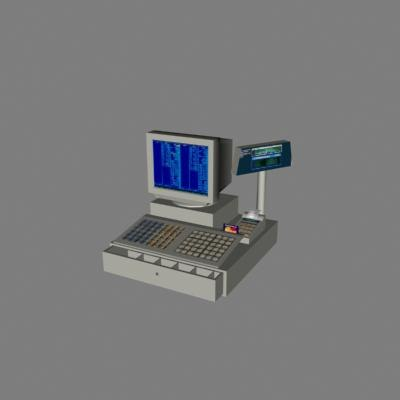 3d model of check