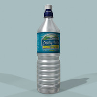 zephyrhills water bottle 3d model