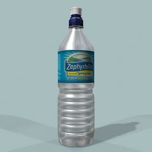 zephyrhills water bottle 3d model