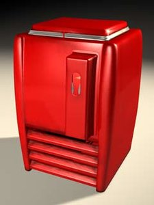 majestic refrigerator 3d max