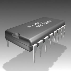 electronic chip 3ds